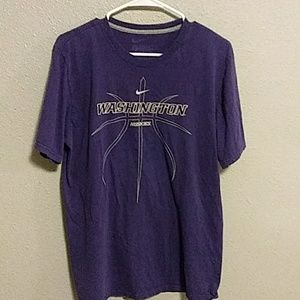 Washington Huskies Nike tee shirt